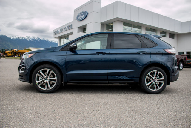2017 ford edge sport blue jeans 2 7l v6 ecoboost terrace totem ford and snow valley ford. Black Bedroom Furniture Sets. Home Design Ideas