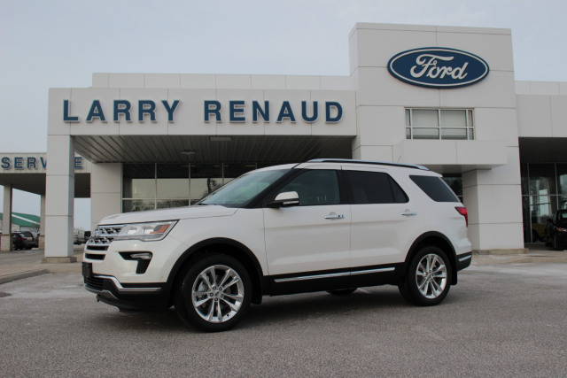 2018 Ford Explorer Limited White Platinum 3 5l Ti Vct V6 Engine Larry Renaud S